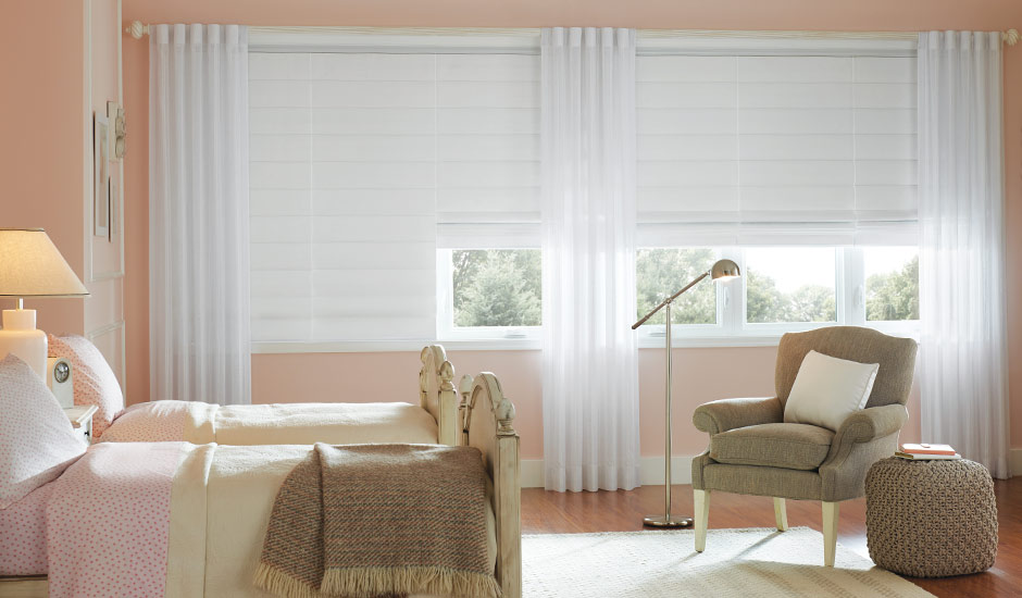 white-pleated-blinds-white-drapes-kids-room