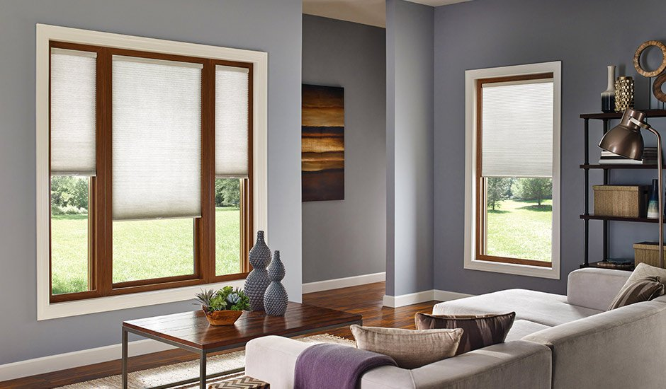 contemporary-living-room-cellular-shades