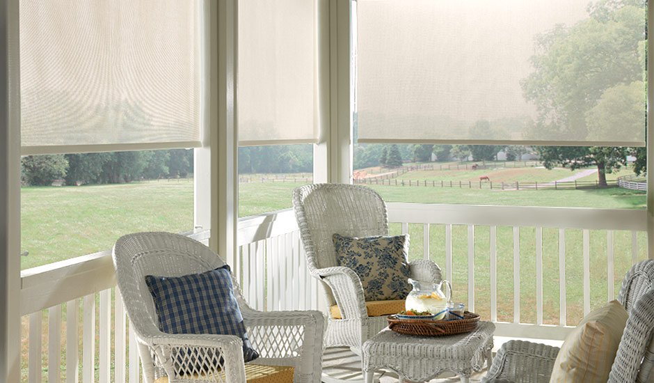 white-patio-roller-shades